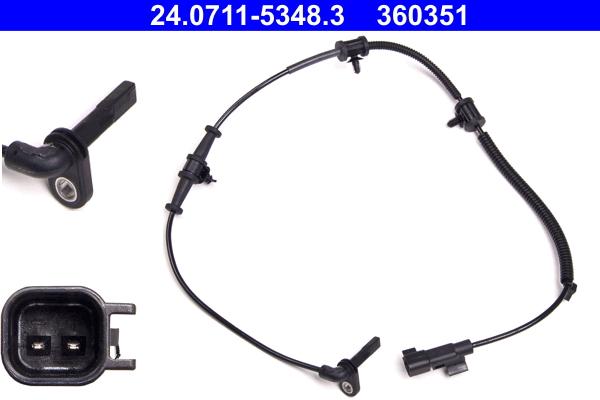 TRW Capteur ABS Pour OPEL ZAFIRA CHEVROLET CRUZE GBS2155