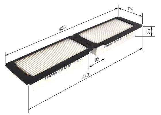Bosch 3 397 004 874 essuie-glaces de raclettes 3397004874