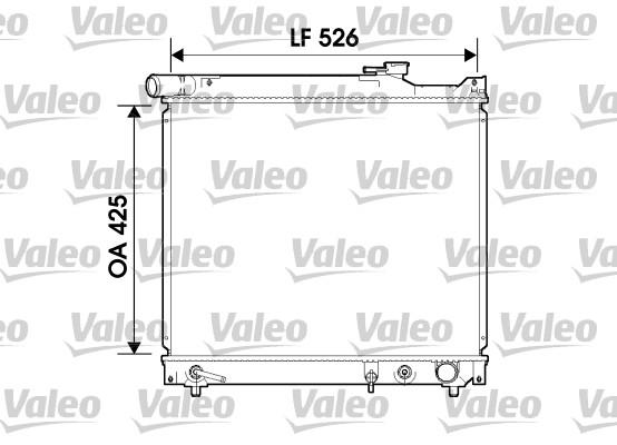 radiateur du moteur pour suzuki grand vitara 2 0 hdi 110