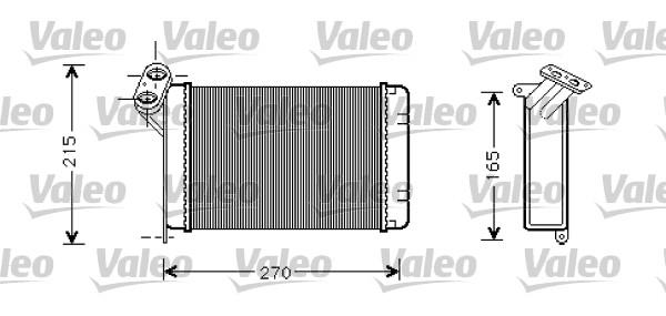 Radiateur De Chauffage Pour Bmw Serie 3 E30 320 I
