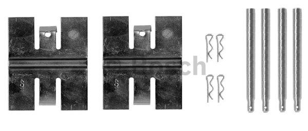 Kit d'accessoires, plaquette de frein à disque BOSCH 1 987 474 345