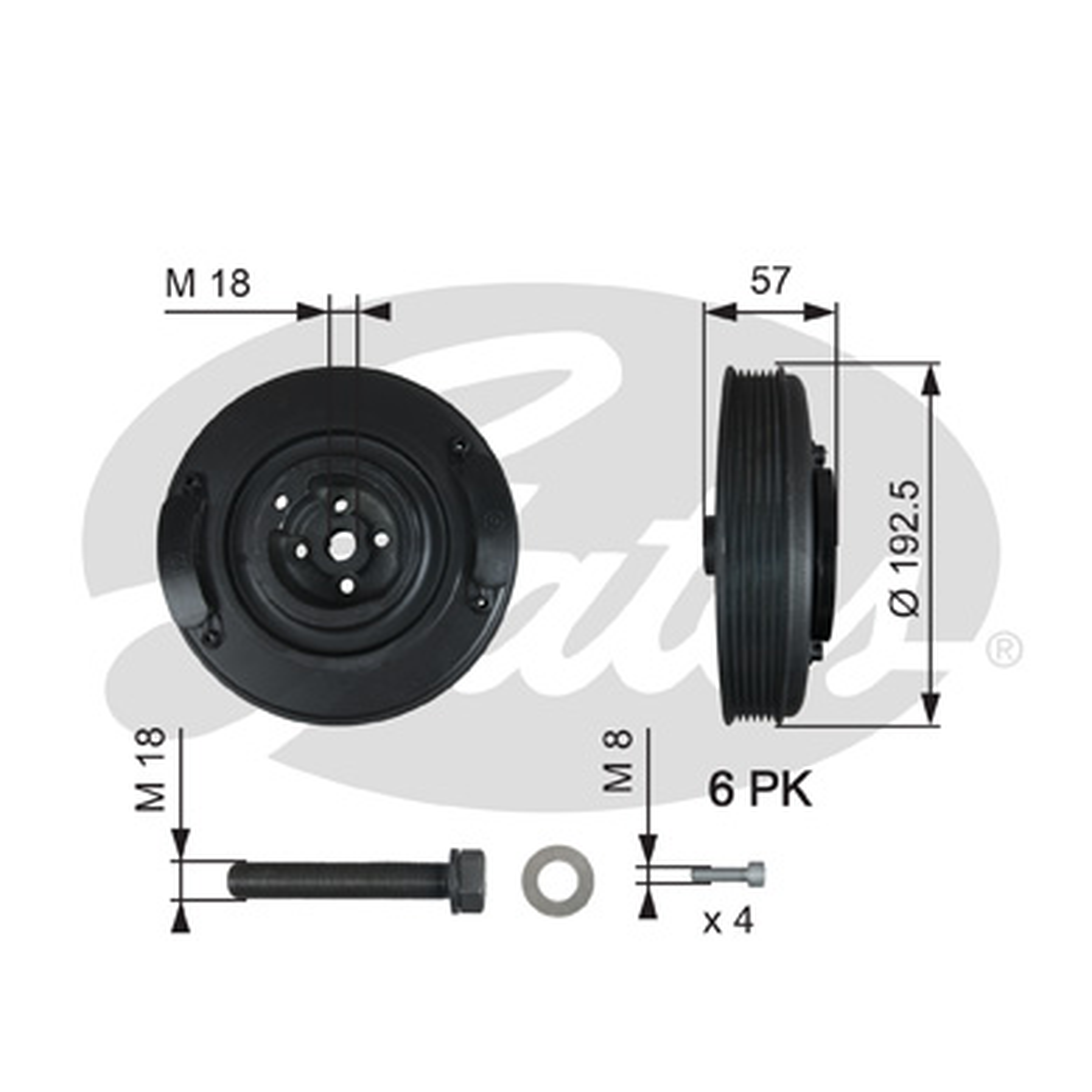 poulie damper pour volkswagen lt ii 28 46 camionnette 2dx0ae 2 5 tdi. Black Bedroom Furniture Sets. Home Design Ideas