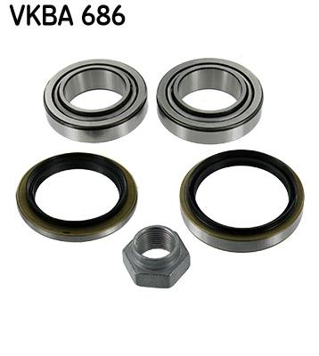 Roulement de roue (à l'unité) SKF VKBA 686