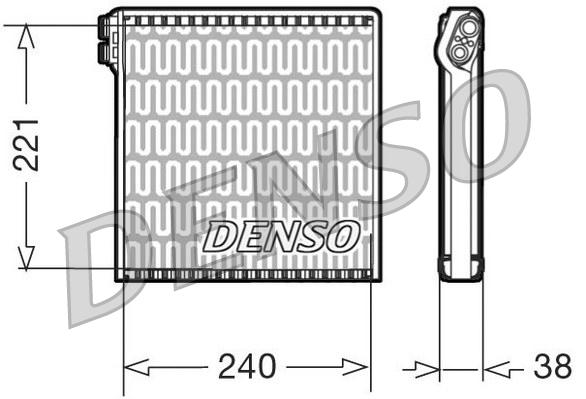 evaporateur climatisation pour fiat ducato iii camion 130 multijet 2 3 d