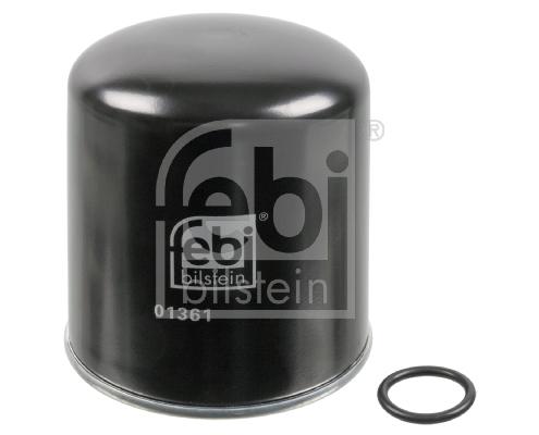 Cartouche de dessicateur, système d'air comprimé FEBI BILSTEIN 01361 d'origine