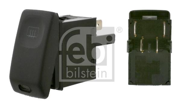 Interrupteur, chauffage de vitre arrière FEBI BILSTEIN 15628 d'origine