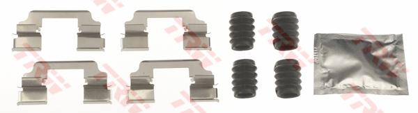 Kit d'accessoires, plaquette de frein à disque TRW PFK660