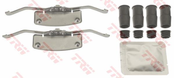 Kit d'accessoires, plaquette de frein à disque TRW PFK669
