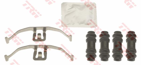 Kit d'accessoires, plaquette de frein à disque TRW PFK677