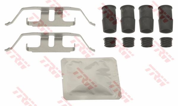 Kit d'accessoires, plaquette de frein à disque TRW PFK682