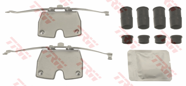 Kit d'accessoires, plaquette de frein à disque TRW PFK683