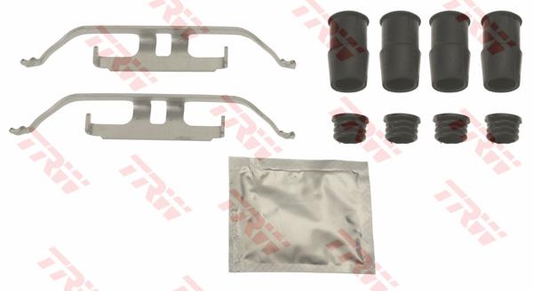 Kit d'accessoires, plaquette de frein à disque TRW PFK706