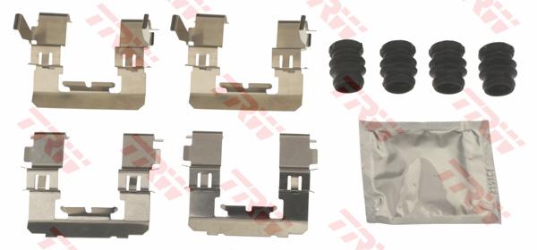 Kit d'accessoires, plaquette de frein à disque TRW PFK713