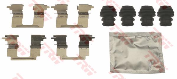 Kit d'accessoires, plaquette de frein à disque TRW PFK716