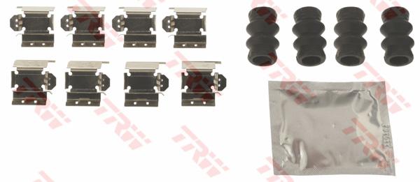 Kit d'accessoires, plaquette de frein à disque TRW PFK717