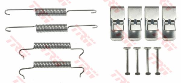 Kit d'accessoires, mâchoire de frein TRW SFK444