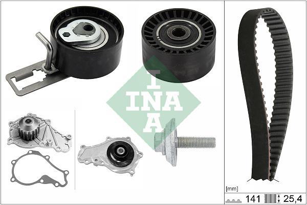pompe eau kit de courroie de distribution pour ford fiesta vi 1 6 tdci. Black Bedroom Furniture Sets. Home Design Ideas