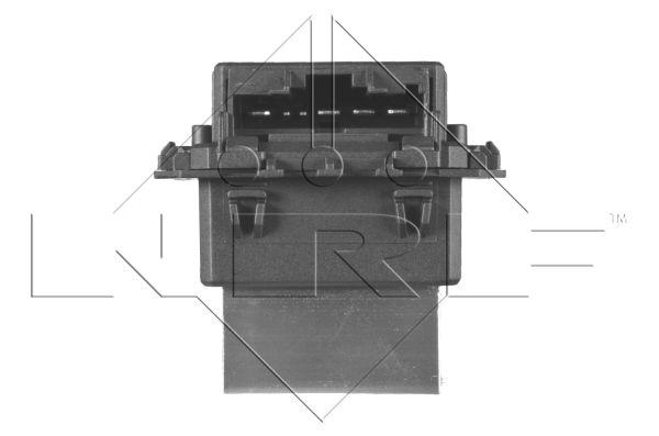 Résistance, pulseur d'air habitacle NRF 342047 d'origine