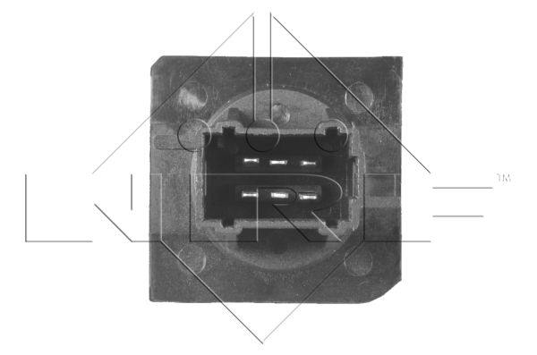 Résistance, pulseur d'air habitacle NRF 342051 d'origine