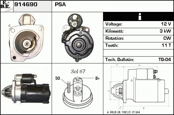 d marreur change standard pour peugeot 505 2 5 turbo diesel. Black Bedroom Furniture Sets. Home Design Ideas