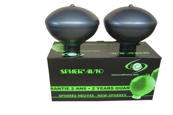 Accumulateur de, suspension/amortissement (Sphère) RCA FRANCE 5008 d'origine