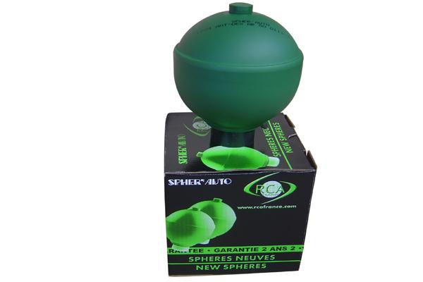 Accumulateur de, suspension/amortissement (Sphère) RCA FRANCE 1512 d'origine