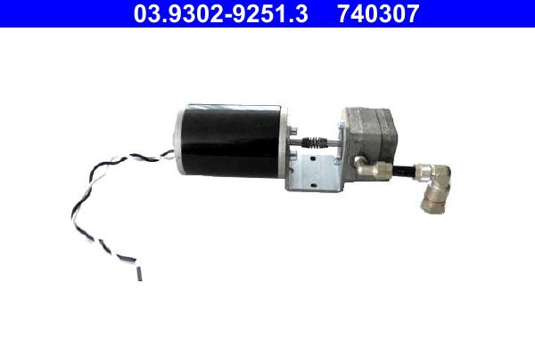 Pompe d'aspiration, auto-purgeur (hydraulique de freins) ATE 740307 d'origine