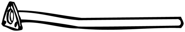 Tuyau d'échappement WALKER 14414 d'origine