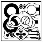 Kit d'assemblage, système d'échappement WALKER 15672 d'origine