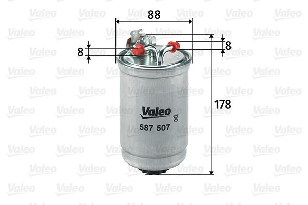 filtre carburant pour volkswagen golf iii 1h1 1 9 td gtd. Black Bedroom Furniture Sets. Home Design Ideas