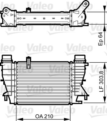 intercooler changeur pour renault modus 1 5 dci 75. Black Bedroom Furniture Sets. Home Design Ideas