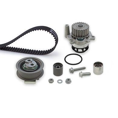 pompe eau kit de courroie de distribution pour audi a3 s rie 2 8p s3 quattro. Black Bedroom Furniture Sets. Home Design Ideas
