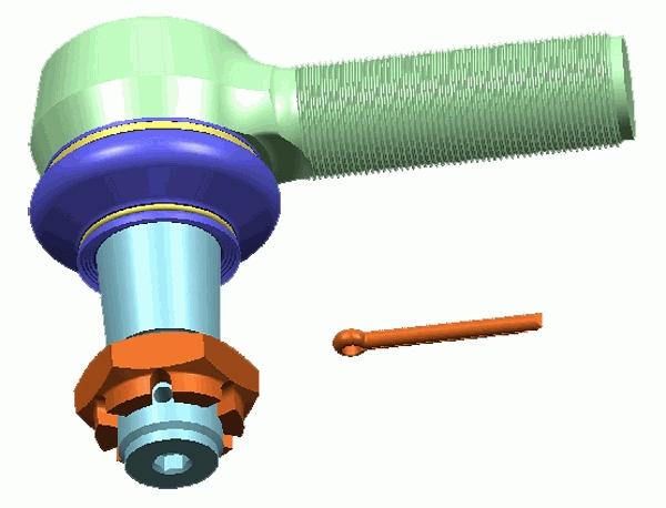 Rotule de direction LEMFORDER 12280 04 d'origine