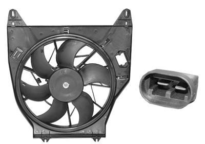 ventilateur refroidissement du moteur pour renault kangoo. Black Bedroom Furniture Sets. Home Design Ideas