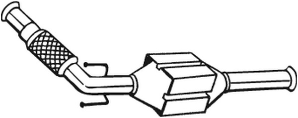 catalyseur pour peugeot 406 berline 8b 2 0 hdi 110. Black Bedroom Furniture Sets. Home Design Ideas