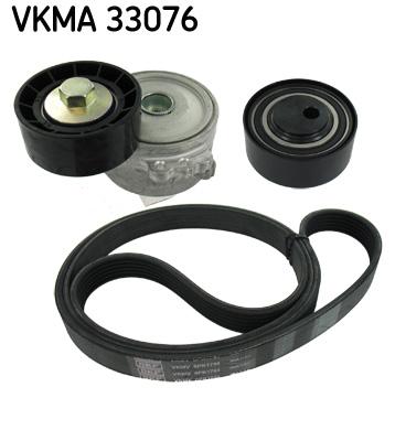 kit de courroies d 39 accessoires skf vkma 33076. Black Bedroom Furniture Sets. Home Design Ideas