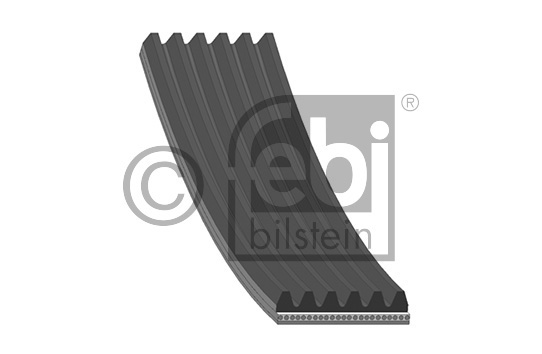 Courroie trapézoïdale à nervures (d'accessoires) FEBI BILSTEIN 39802 d'origine